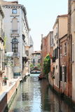 Water channel in Venice Stock Photography