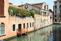 Water channel in Venice Stock Photos