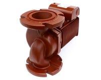 Water Circulating Pump. Single phase, flange-mounted, centrifugal pump Stock Photos