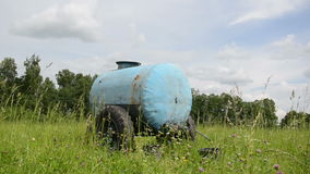Water cistern pasture Royalty Free Stock Photos