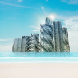 Water city Stock Photography