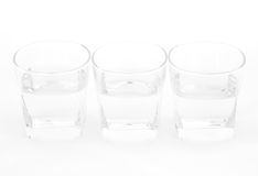 Water clear glass Royalty Free Stock Images