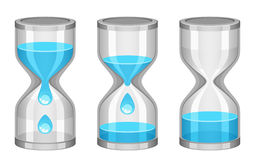 Water clock Stock Images