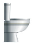Water-closet. Side view Stock Image