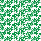 Water clover pattern  Royalty Free Stock Photos