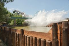 Water coaster Stock Image