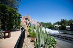 Water coaster plunge Stock Image