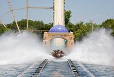 Water Coaster Ride Stock Photo