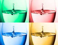 Water collage Stock Photography