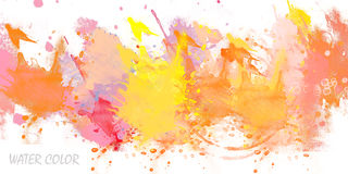 Water color. Abstract background water color - splatter stock illustration
