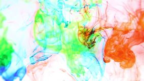 Water color background stock footage