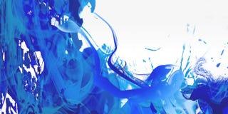 Water color. Bleu background water color - splatter Stock Photo