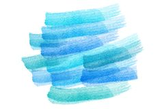 Water color in blue tone abstract background. Created from illustration Royalty Free Illustration