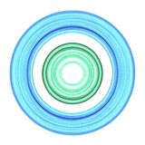 Water color circles royalty free illustration