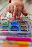 Water-color e mano Immagine Stock