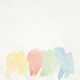 Water color like cloud on old paper. + EPS10 Royalty Free Stock Image