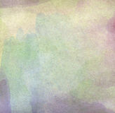Water color like cloud on old paper texture background. Royalty Free Stock Photos