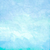 Water Color Like Sky On Old Paper Texture Stock Photos