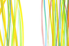 Water color lines Royalty Free Stock Images