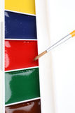 Water-color paint Stock Image