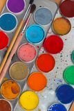 Water color paint box Stock Photography