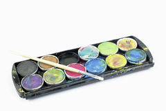Water color paint Royalty Free Stock Photos