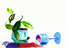 Water color painting Royalty Free Stock Images