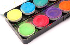 Water color paints Royalty Free Stock Photos