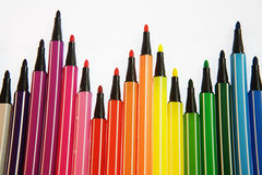 Water color pens Stock Photo