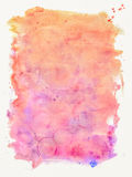 Water color texture background Royalty Free Stock Photography