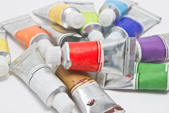 Water Color Tubes. Stock Images