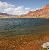 The water of the Colorado River Stock Photography