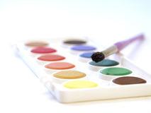 Water-colors Stock Photography