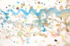 Water colors Stock Image