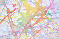Water colors Stock Photo