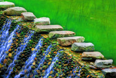 Water in Colors Stock Images