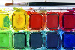 Water Colors Royalty Free Stock Photo