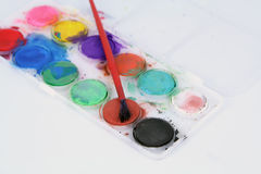 Water colors Stock Images