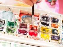 Water Colors Royalty Free Stock Images