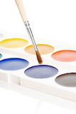 Water colour paints Royalty Free Stock Photos