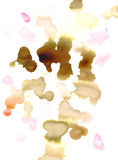 Water colour stains Royalty Free Stock Photo