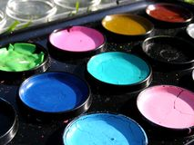 Water colours Royalty Free Stock Images
