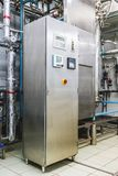 Water conditioning or distillation room Royalty Free Stock Images