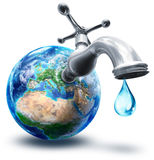 Water conservation concept Royalty Free Stock Image