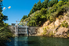 Water Control Dam Stock Images