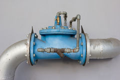 Water Control Valve's department store building Stock Images