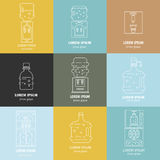 Water cooler collection Royalty Free Stock Images
