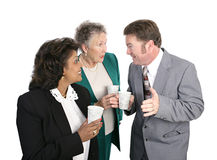 Water Cooler Gossip Stock Photography