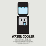 Water Cooler Graphic Royalty Free Stock Photography