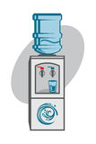 Water cooler icon Royalty Free Stock Photo